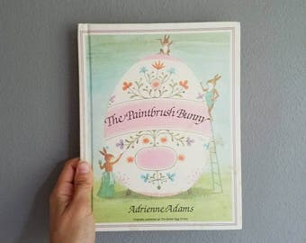 The Paintbrush Bunny by Adrienne Adams 1976