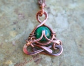Little Yogi- Namaste - Malachite -yoga jewelry-meditation-love-chakra-yogi necklace-lotus-yoga-mens valentines gift, Lemurian Diamond, Bibi