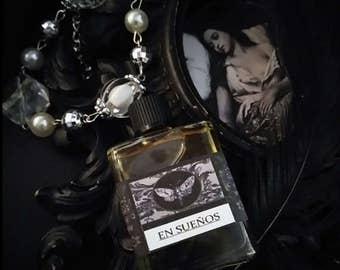En Suenos  Gypsy Alchemy Natural Perfume Oil  1/2 oz  Jasmine, Lavender, Grapefruit, Black Pepper, Patchouli, Ambrette, Rose