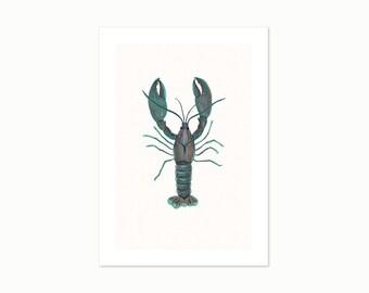 Yabby - A4 Giclee Art Print