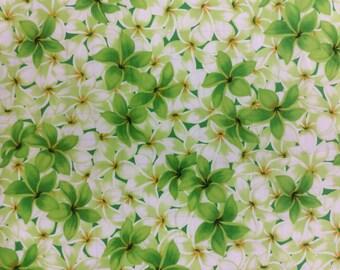 New!  Hawaiian Print in Cotton. (yardage available)