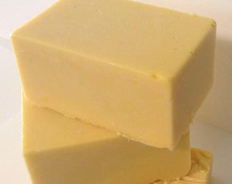 100% Natural--Day/Night Herbal Therapy Goat's Milk Shea Butter Glycerin FACE and BODY Soap bar