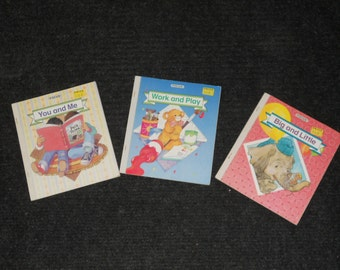 Vintage Focus Books-Lot of 3-Level 2A, 2B, 2C-NICE!!!