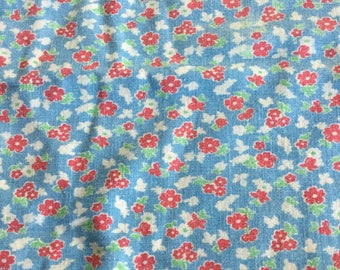 Vintage Feedsack Fabric 3