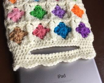Tablet Reader iPad mini Crochet Sleeve Bag
