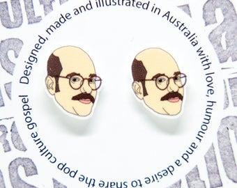 Arrested Development - Tobias Funke earrings
