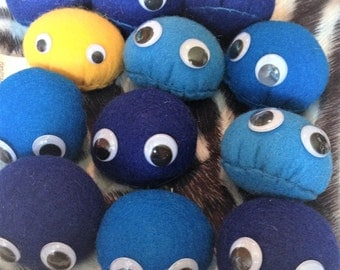 Buy 4 Get 1 FREE Pebble Plushies (Baby Pet Rocks) (Choose Color) - Great party gift or stocking stuffer!