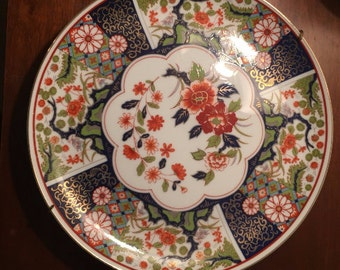 Vintage Decorative Porcelain Imari Ware Plate