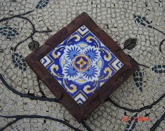 Mexican Tile Trivet Etsy