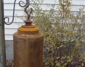 Handcrafted Ornamental Functional Garden Bell/Gong