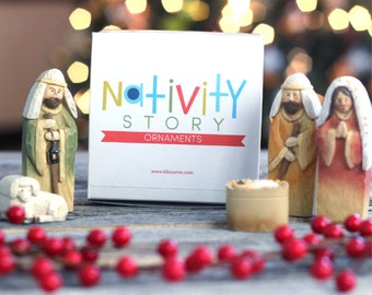 Nativity Story Ornaments
