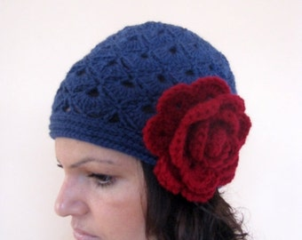 HOLIDAY SALE 50% SALE Crochet  Hat / Crochet Beanie / Rts / Sale