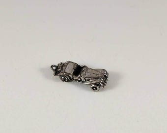 Vintage Sterling Charm, Sterling Silver Charm, Vintage Rolls Royce, Rolls Royce Charm, Sterling Rolls Royce, Vintage Sterling Silver