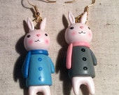 Reserved sue   bunny Earrings