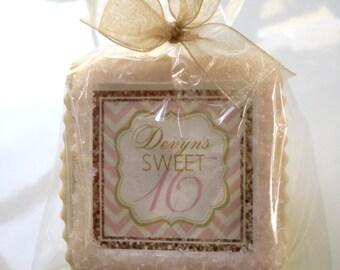 Birthday favor 16th 50th 40th 60th 70th 80th 90th cookie favor
