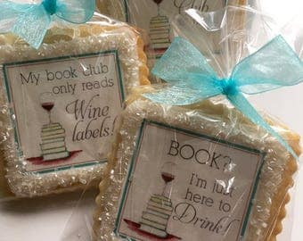 Book Club cookie favors