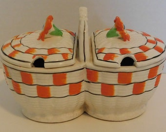 Vintage made in Japan condiment bowls