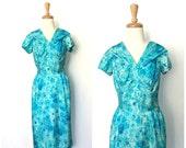 1960s  Dress - midi - pin...