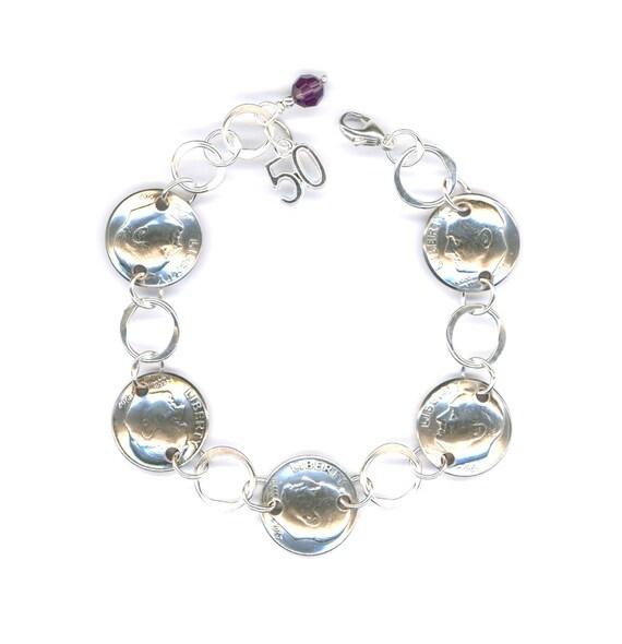 50th Birthday Gift Jewelry 1967 50th Anniversary Gift Women