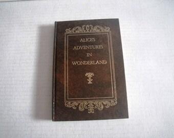 Alice's Adventures in Wonderland by Lewis Carroll John Tenniel - Facsimile Book