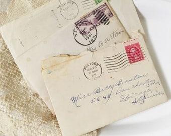 Vintage Letters-Dear Betty Letters