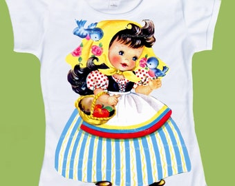 Snow White, Girls Princess Shirt, First Birthday, Fairy Tale, Storybook shirt, toddler tees, One Piece Baby,Tank, ChiTownBoutique.etsy