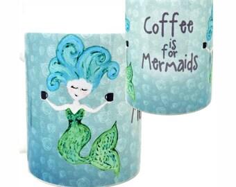 Mermaid Coffee Mug by Pithitude
