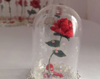 Enchanted Rose/Beauty and the Beast/Rose/Handmade Paper Rose/Enchanted Rose/Beauty & the Beast Inspired