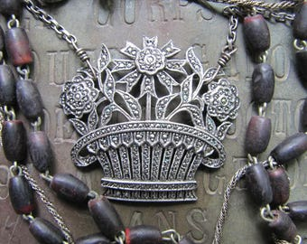 Sterling Marcasite & Lots of Layers