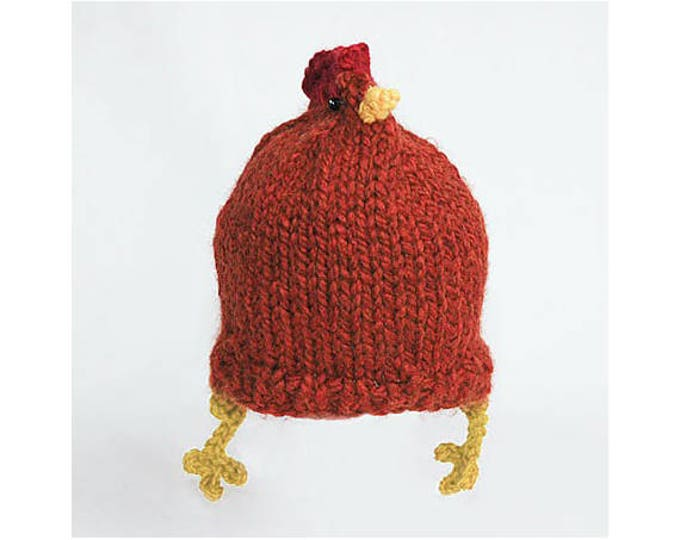 Rhode Island Red Chicken Hat