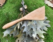 FLIP OUT WIDE Left Handed Spatula - Handmade Cherry