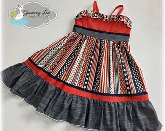 Gooseberry Lane Stars and Stripes Dress