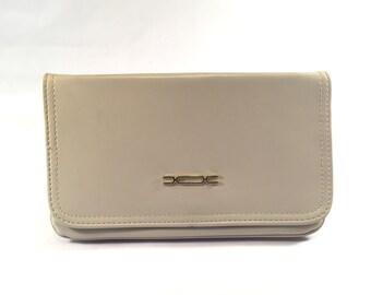 1970's Vinyl Clutch Handbag Envelope Style