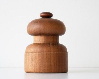 Vintage Danish Modern Dansk Salt & Pepper Mill - Jens Quistgaard
