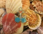 my heart belongs to the sea pin badge