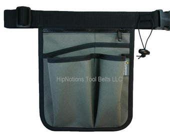 Gardening Charcoal Grey Heavy Cordura Nylon HipNotions Tool Belt