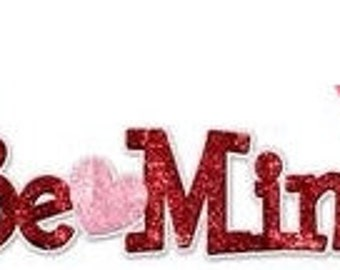10%OFF 14.25 Inch Be Mine Sign MS701039, Valentine Decor, Valentine Decorations, Wreath Decor