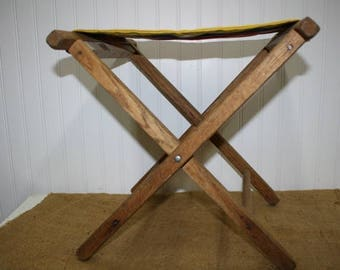Folding Camp Stool - Fishing Stool - item #2188
