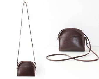 Coach Crossbody Bag • Vintage Coach Purse • Small Crossbody Purse • Brown Leather Crossbody Purse • Coach Leather Bag | B890