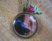 Beauty and the Beast Photo Cab Pendant Live Action Image