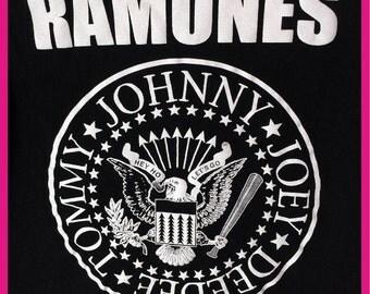 Black Ramones T-Shirt Size Small