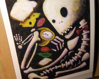 Sandwich Time (8x10 Print)