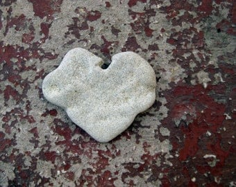 Heart Beach Rocks - a natural heart shaped beach stone