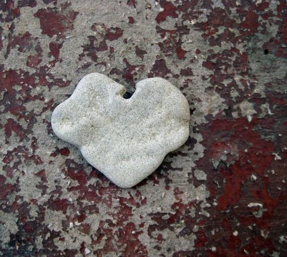 Heart Beach Rocks - a natural heart shaped beach stone
