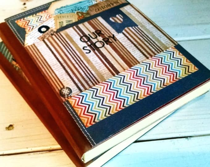 Featured listing image: Our Story Journal Notebook Sketchbook Art Journal Keepsake with Unlined Pages