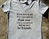 Funny Wine shirt, tops and tees, Wine friend  gift, gift for wine lover