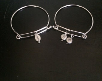 eternity bracelet, destiny charm bracelets, bangle bracelets, destiny jewelry, word charm bracelets, charm jewelry