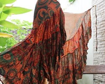 Ariel on Earth Ruffle Wrap Skirt - OG0517-01
