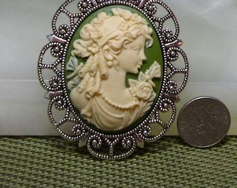 Grecian Lady Brooch