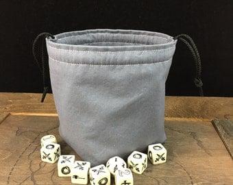 Storm Gray Dice Bag